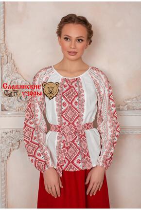 Блуза Божена с орнаментами