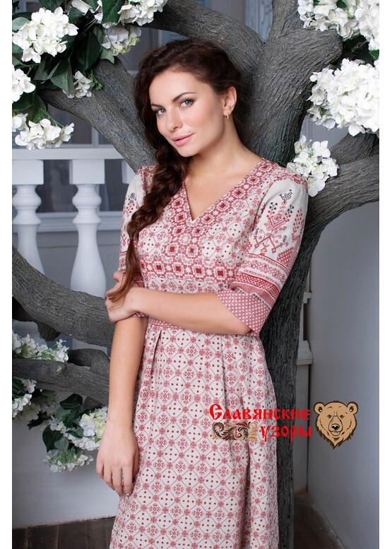 Платье обережное Маргарита