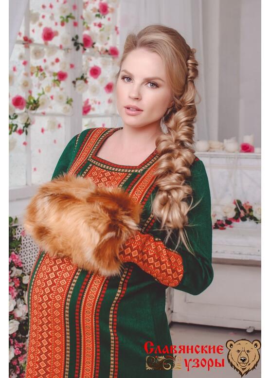 Тёплое платье Хозяйка Медной горы
