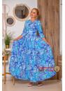 Платье из хлопка Морозные Узоры