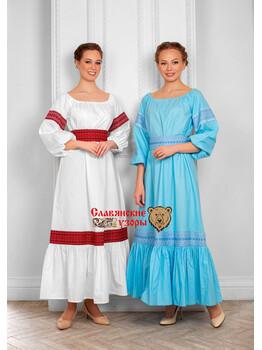 Платье из хлопка Заряна