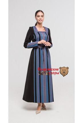 Платье из хлопка Нежные цветы