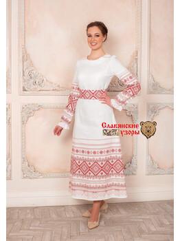 Платье из хлопка Божена
