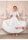 Платье Белоснежка праздничное