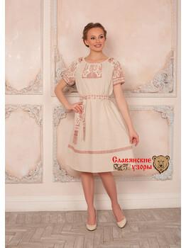 Платье на лето Матушка Макошь миди