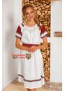 Платье льняное Вешние воды миди